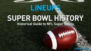 Super Bowl History Guide: Tracker + Awards History