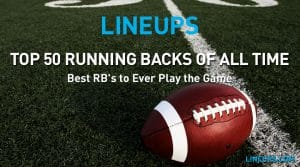 Top 50 Running Backs of All Time