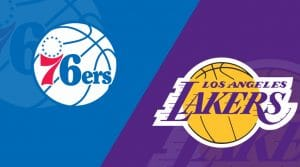 Los Angeles Lakers at Philadelphia 76ers  2/10/19: Starting Lineups, Matchup Preview, Betting Odds