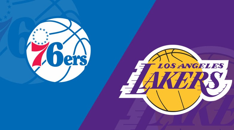 Los Angeles Lakers At Philadelphia 76ers 2 10 19 Starting Lineups Matchup Preview Betting Odds