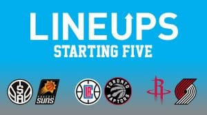 Today's NBA Projected Starting Lineups, Matchups, Injury News –  12/11/18