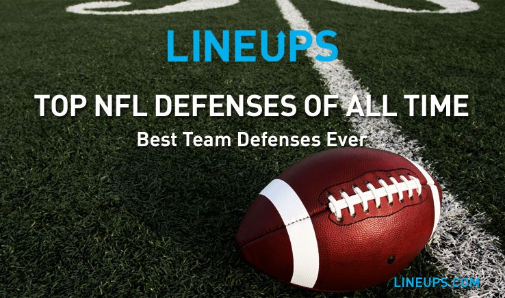 Top NFL Defenses of All Time