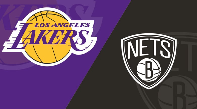 Brooklyn Nets Vs Los Angeles Lakers 2 18 21 Starting Lineups Matchup Preview Betting Odds