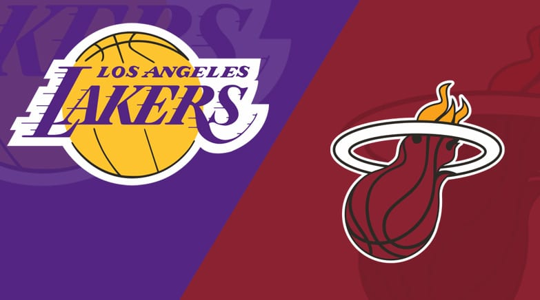 Miami Heat Vs Los Angeles Lakers 10 11 20 Starting Lineups Matchup Preview Betting Odds