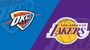 Los Angeles Lakers vs Oklahoma City Thunder 8/5/20: Starting Lineups, Matchup Preview, Betting Odds