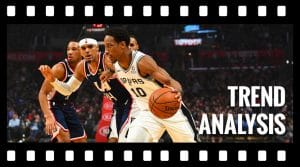 Trend Analysis: Busting DeMar DeRozan's Slump
