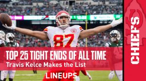 Top 25 Tight Ends of All Time