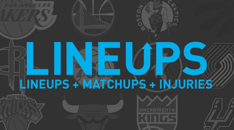 starting lineups injuries