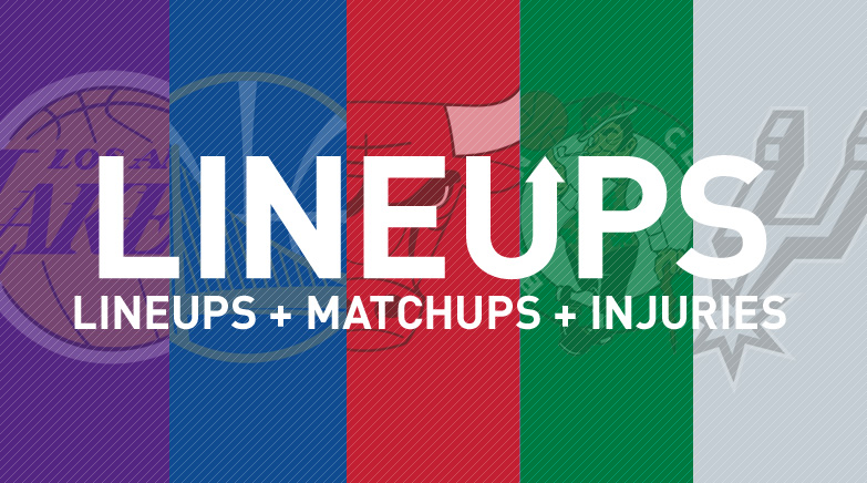 starting lineups matchups
