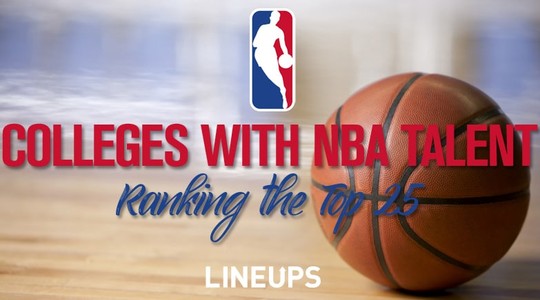 colleges with nba talent