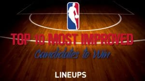 Top 10 Candidates for Most Improved NBA Player