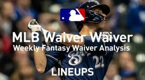 MLB Fantasy Baseball Waiver Wire Pickups: Week 21