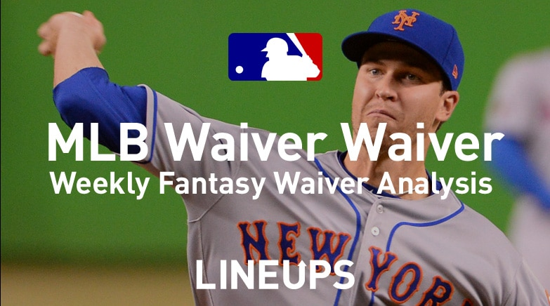 MLB Waiver Waiver jacob degrom
