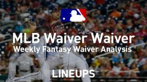 MLB Fantasy Baseball Waiver Wire Pickups: Week 20
