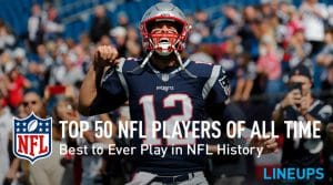 Top 50 NFL Players of All-Time