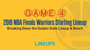Breaking Down the Golden State Warriors Game 4 Starting Lineup in the NBA Finals