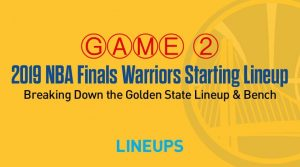 Breaking Down the Golden State Warriors Game 2 Starting Lineup in the NBA Finals