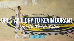 An Open Apology to Kevin Durant
