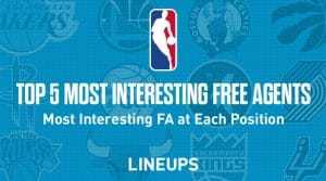 The 5 Most Interesting NBA Free Agent at Each Position