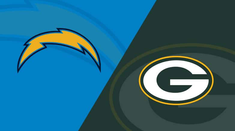 chargers vs packers