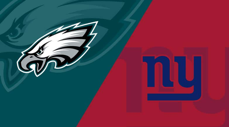 Betting odds eagles vs giants best us sports betting website