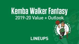 Kemba Walker Fantasy Outlook & Value 2019-2020