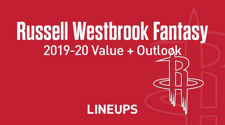 russell westbrook fantasy value, outlook 2019