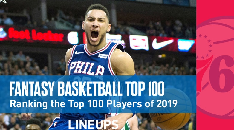 fantasy basketball top 100 rankings