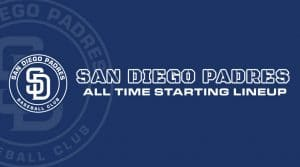 San Diego Padres All-Time Lineup/ Roster
