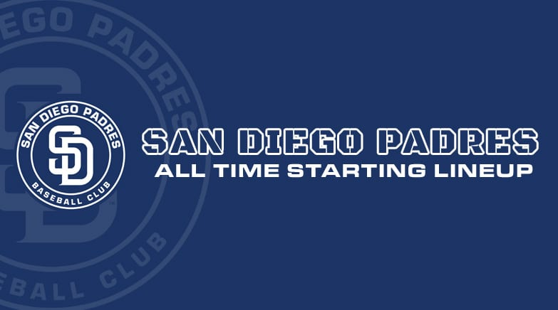 san diego padres - all time starting lineup
