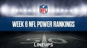 Week 6 NFL Power Rankings