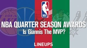NBA Quarter Season Awards: Is Giannis The MVP So Far?