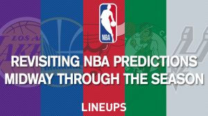 Revisiting NBA Predictions Midway Through the Season