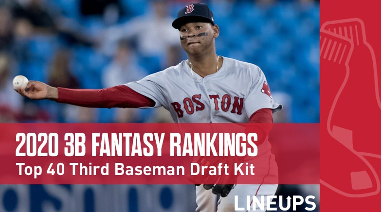 2020 3b fantasy baseball rankings
