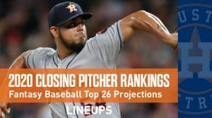 2020 Fantasy Baseball Closing Pitcher Rankings: Liam Hendricks On The Rise