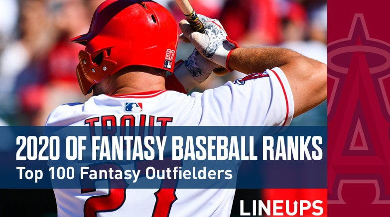 2020 fantasy baseball rankings of