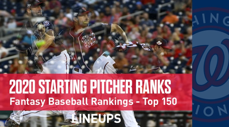 2020 starting pitcher fantasy rankings