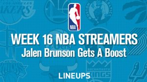 Week 16 NBA Streaming Options: Jalen Brunson Gets Boost With Doncic Injury