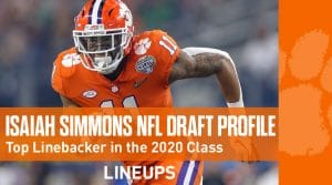 Isaiah Simmons NFL Draft Prospect Profile 2020 (Scouting Report)