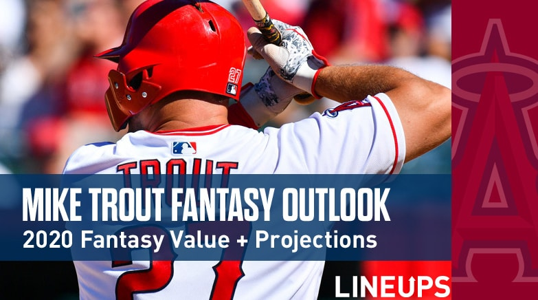 mike trout fantasy value 2020