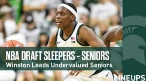 2020 NBA Draft Senior Sleepers: Winston Leading Undervalued Seniors