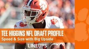 Tee Higgins NFL Draft Prospect Profile 2020 (Scouting Report)