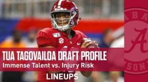 Tua Tagovailoa NFL Draft Prospect Profile: Immense Talent vs. Injury Risk (Scouting Report)