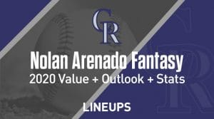 Nolan Arenado Fantasy Baseball Outlook & Value 2020