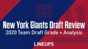 New York Giants Draft Grade + Analysis: 2020 NFL Draft Review