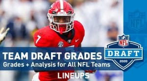 NFL Draft Grades for the 1st Round: Analysis on All 32 Teams