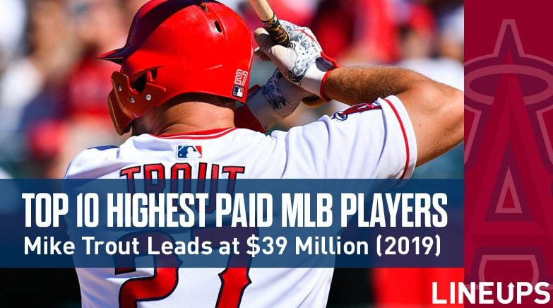 top 10 highest paid mlb players