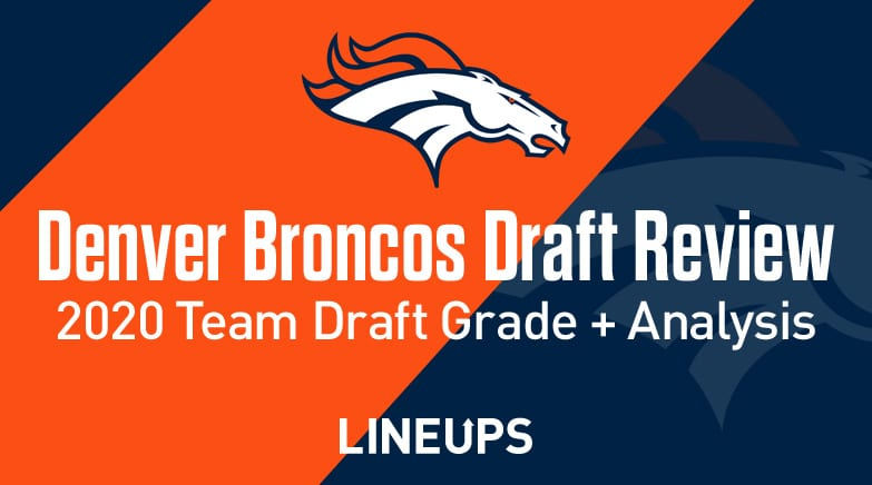 denver broncos draft grade