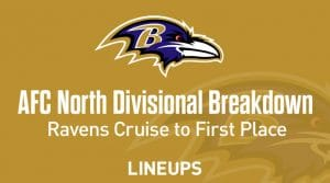 AFC North Divisional Predictions: Lamar and the Ravens Cruise to the Finish Line