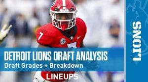 Detroit Lions 2020 NFL Draft Grade + Analysis